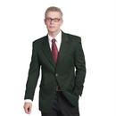 Executive Apparel 1050 Men's Blazer EasyWear 2-Button Polywool