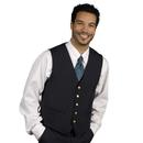 Executive Apparel 1100 Men's V-Neck Vest UltraLux Lined