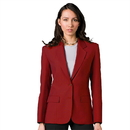 Executive Apparel 2050 Women's Easywear Single Breasted 2-Button Blazer