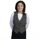 Executive Apparel 2100 Women's V-Neck Vest UltraLux