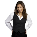 Executive Apparel 2150 Women's V-Neck EasyWear Vest
