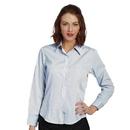 Executive Apparel 2439 Women's Classic Oxford Shirt Fineline Striped
