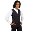 Executive Apparel 8100 Women's V Neck Vest Gourmet Lined