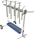 Astro Pneumatic Tool AO7300 UNIVERSAL ROTATING PARTS STAND