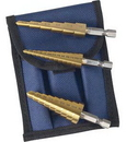 Astro Pneumatic Tool AO9445 Titanium Step Drill Bit Set 1/8