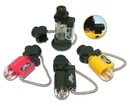 Blazer Products BZ189-2072 PB207 Clear Pocket Torch Black