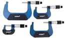 Central Tools 3M214 4 Piece Metric Micrometer Set