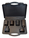 Horizon Tool CV839 Six Piece 4WD Lock Nut Socket Set