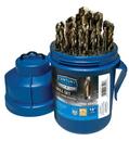 Century Drill & Tool 26529 29 Piece Prograde Cobalt Drill Bit Pod