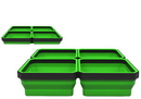 E-Z RED EZTRAY-QGR Green Expandable Magnetic Tray