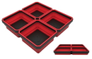 E-Z RED EZTRAY-QRD Red Expandable Magnetic Tray