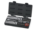 GearWrench KD80300 51 Piece 1/4 Drive 6 Point Socket Set