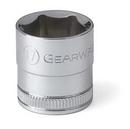 GearWrench KD80385 3/8 Drive 17MM 6 Point Standard Metric Socket