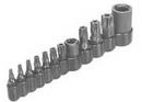 Lisle LS26530 MASTER TAMPER RESIS TORX BIT SET T10-T55