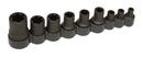 Lisleoration LS83100 External Torx Plus Socket Set 1/2