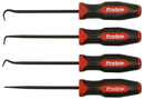 Mayhew Steel Products 13094 4 Piece Progrip Hook & Pick Set