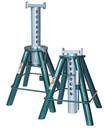 Safeguard 63102 10 Ton Higher Lift Stands - Pair