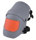 American Forge & Foundry 96110 Ultra Flex III Knee Pad - Grey/Orange