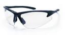 SAS Safety SS540-0600 DB2 Safety Glasses - Black Frame W/Clear Lens