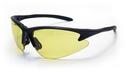 SAS Safety SS540-0605 DB2 Safety Glasses - Black Frame W/Yellow Lens