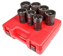 Sunex Tool SU4667 7 Piece 3/4 Drive Truck Pinon Locknut Impact Socket Set