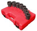 Sunex Tool SU4680 8 Piece SAE Impact Socket Set 1x1-1/2