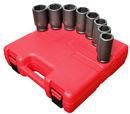 Sunex Tool SU4681 8 Piece SAE Deep Impact Socket Set 1
