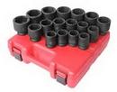 Sunex Tool SU4684 3/4 Drive 17 Piece Metric Standard Impact Socket Set