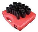 Sunex Tool SU4686 3/4 Drive 17 Piece Metric Deep Impact Socket