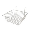 "Econoco BSK13-EC 12""W x 12""D x 4""H Small Basket"
