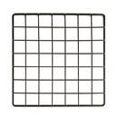 "Econoco GS10-B 10""L x 10""W Epoxy Coated Grid Cubbies"