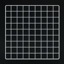 """Econoco GS14-W 14""""L x 14""""W Epoxy Coated Grid Cubbies"""