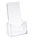 "Econoco IM-CT49 4""W x 9""H Injection Molded Styrene Literature Holder"
