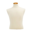 Econoco M5 Male Shirt Form with Neckblock, Creme