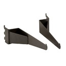 Econoco PSORKB Pipeline - Set of Shelf Brackets for Outrigger, Anthracite Grey