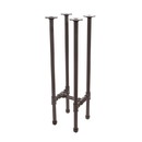 Econoco PSTT Pipeline - Tower Table Frame Only, Anthracite Grey