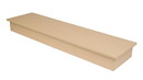Econoco WD6016-MP Wood Platform Bases for Glass Cubbies, 60