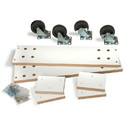 Econoco WDCAS2H48 Optional caster kit for Slatwall Gondola Only