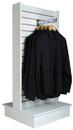 Econoco WDSWH24WH 2-Way Slatwall Merchandiser - White