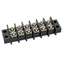Te Connectivity 1546671-6 Barrier Terminal Block/6 Position, Open End Mount, For Use With 22-14 Gauge Wire.