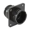 Te Connectivity 206036-1 Circular Connector/16 Position, Panel Mount, Flange #1, Straight Angle, Threaded