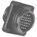 Te Connectivity 206127-1 Circular Connector/Male, 28 Position, Panel Mount, Flange With Mounting Holes, Straight Angle, Threaded