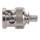 Te Connectivity 225395-3 Bnc Connector/Male, Dual Crimp, 50 Ohms, 4 Ghz, Straight. For Use With Rg-55, Rg-55A, Rg-55B, Rg-223