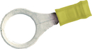 Te Connectivity 35111 Ring Terminal/Yellow, 5/16. Pidg Series. For Use With 12-10 Gauge Wire.