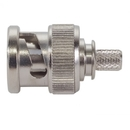 Te Connectivity 5225395-6 Bnc Connector/Male, Crimp, 50 Ohms, 4 Ghz, Straight. For Use With Rg-142, Rg-142A, Rg-142B, Rg-400. Rohs Compliant.