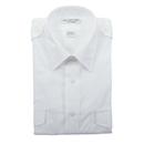 Van Heusen 57-306-18 Mens Aviator Style Shirt/Short Sleeve/White/Size 18
