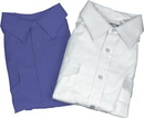 Van Heusen 57-554-17 Mens Aviator Style Shirt/Short Sleeve/White/Size 17/Tall