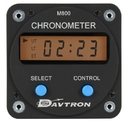Davtron 1042-800-14V Chronometer/Digital Clock With 14V Lighting.  Displays Universal Time, Local Time, And Elapsed Time. 2 1/4 Internal Mount, 2-Button Control.