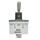 EDMO 8500K5 Toggle Switch/Spdt (Single Pole Double Throw), On-None-On, Panel Mount, Screw Terminals, Environmentally Sealed.