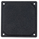 Forbes ATI-1AB Cover Plate/Aluminum Black Powder Coat. For Use With 3Ati Instruments.